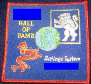 hall of fame patch