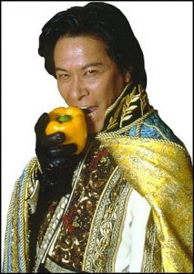 Host of Iron Chef - Takeshi Kaga