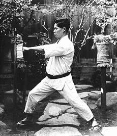 makiwara training