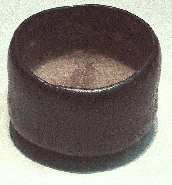wabi tea bowl