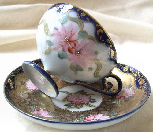 fancy tea cup