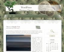 bonsai japan blog theme