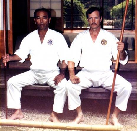 logue and oyata of ryute karate