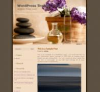 zen stone blog theme