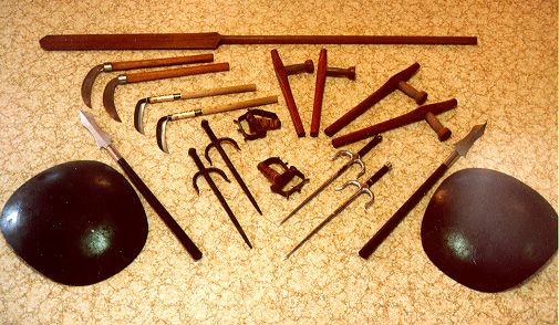 okinawan kobudo weapons