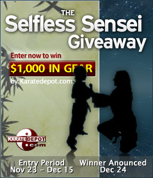 selfless sensei giveaway