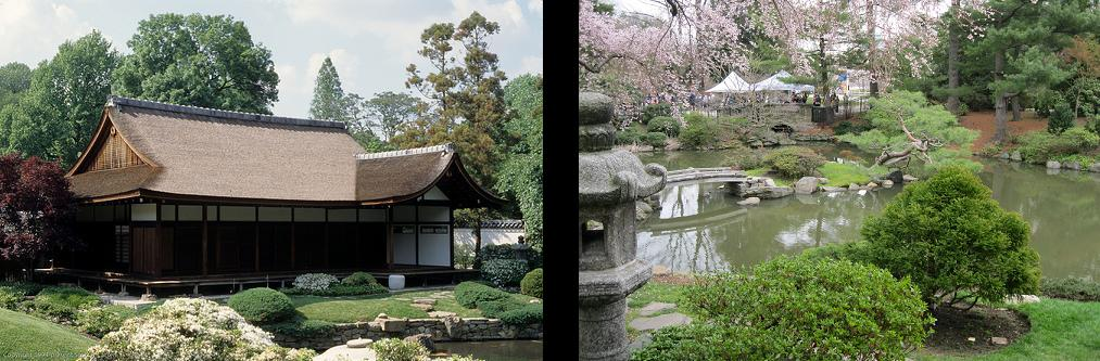 shofuso japanese tea house and garden