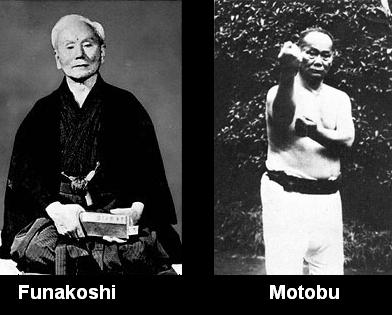 funakoshi and motobu