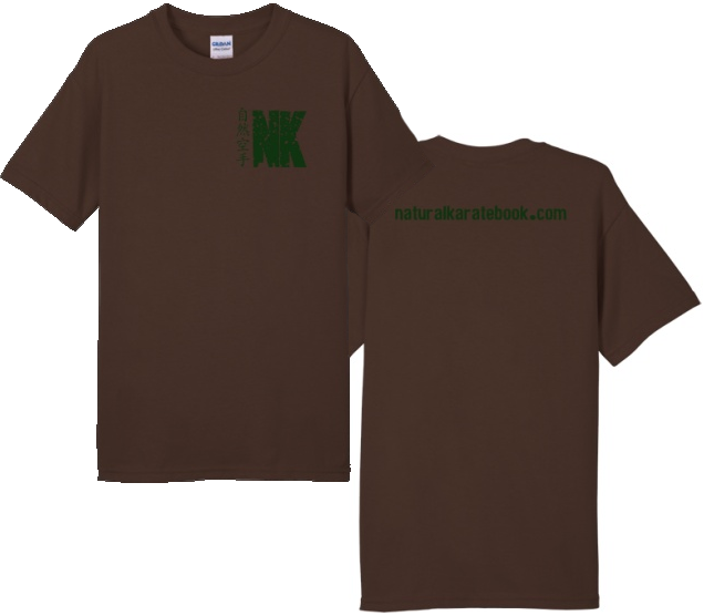 ikigaiway tshirt natural karate