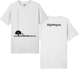 ikigaiway tshirt tree horizon