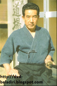 Risuke Otake Sensei, Katori Shinto Ryu, Demonstrating Fierce Gaze