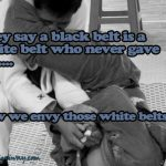black belt white belt ecard