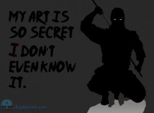 secret martial art ecard