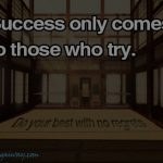 try to succeed ecard
