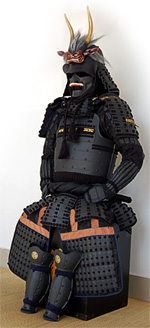 Black Samurai Armor