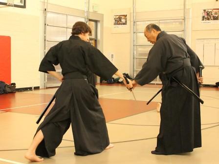 iaido technique correction