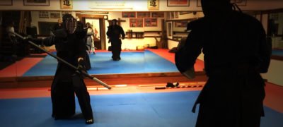 Weapons Fighting (Kobudo Kumite) with Budo Buki Weapons