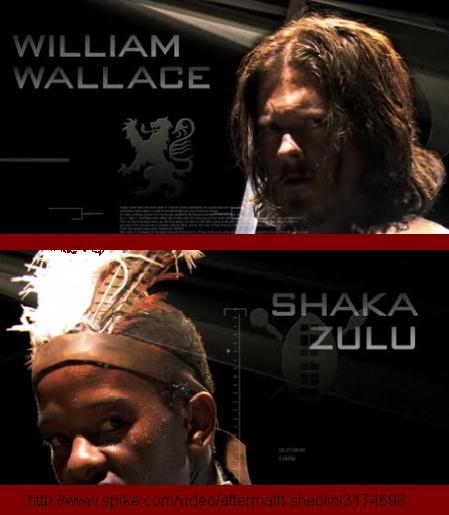 William Wallace Vs Shaka Zulu