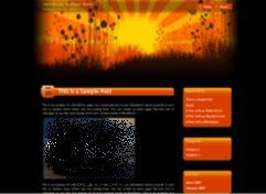 rising sun japan blog theme