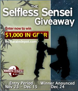 selfless sensei giveaway