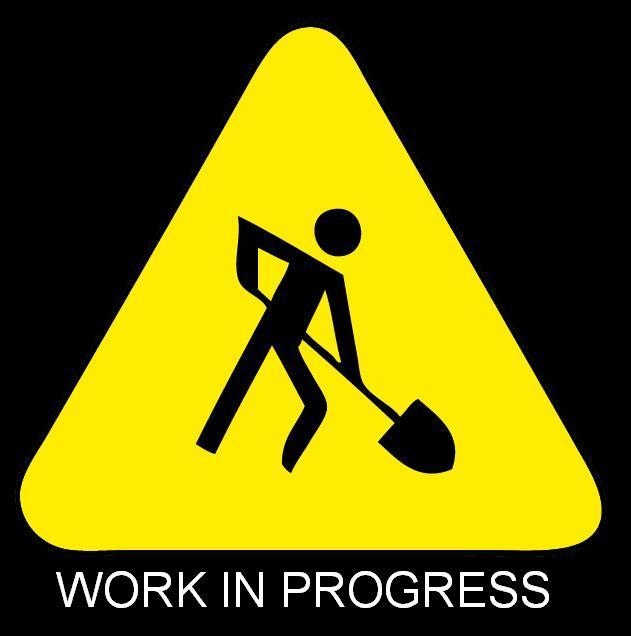 work in progress black