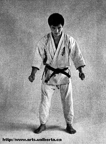 karate kata bow