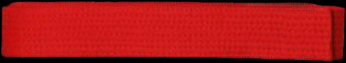 red karate belt