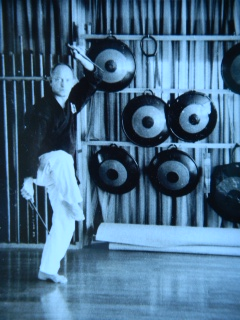 Kimo Wall Sensei at the New Matayoshi Dojo, 1972
