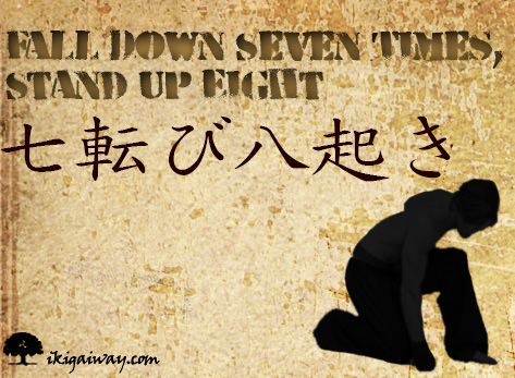 fall seven, stand up eight ecard