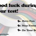 good luck martial arts ecard