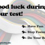 testing good luck ecard