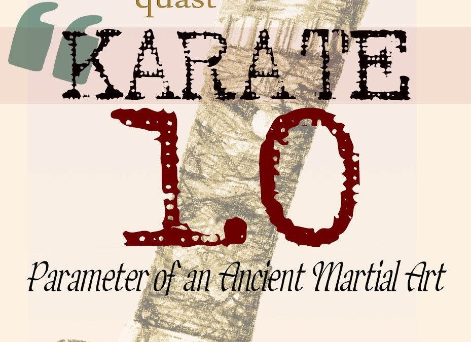 Review: Karate 1.0 (Parameter of an Ancient Martial Art), by Andreas Quast