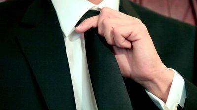professional in tie