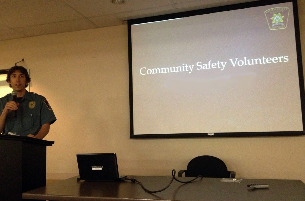 Joining the Community Safety Service