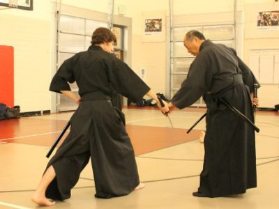 The Three Visualization Levels of Iaido Training