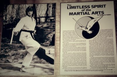 Now Available – The Limitless Spirit of the Martial Arts (Book)