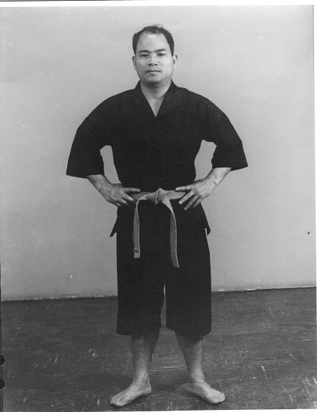 Shimabuku Sensei photo, 1968