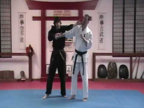 Gojushiho Step-Toss Bunkai