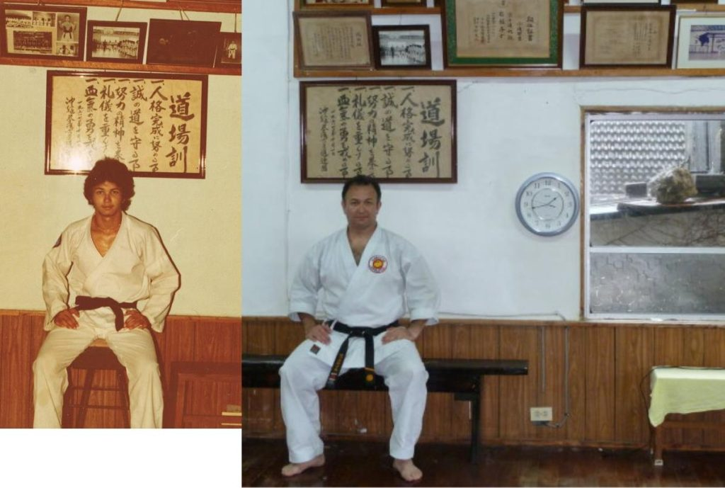 before and after in the agena dojo